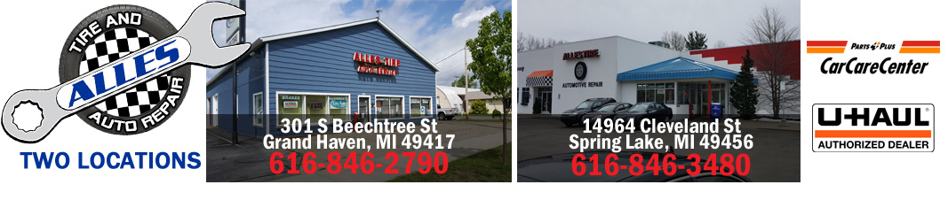 Terrific Alles Tire And Auto Repair Grand Haven Home Interior And Landscaping Palasignezvosmurscom